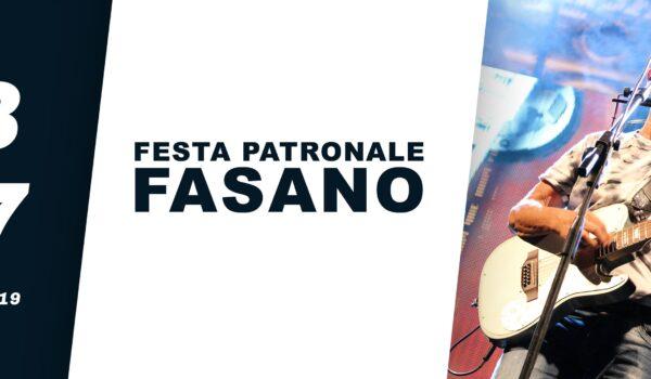 Festa patronale di Fasano, ecco il programma completo