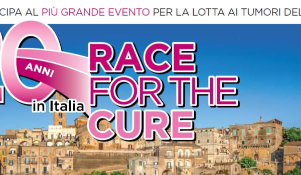 Matera 2019, arriva la corsa solidale di Race For The Cure