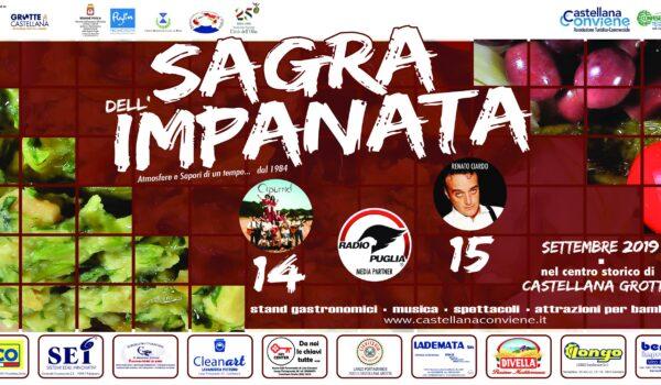 Puglia, a Castellana Grotte arriva la Sagra dell'Impanata