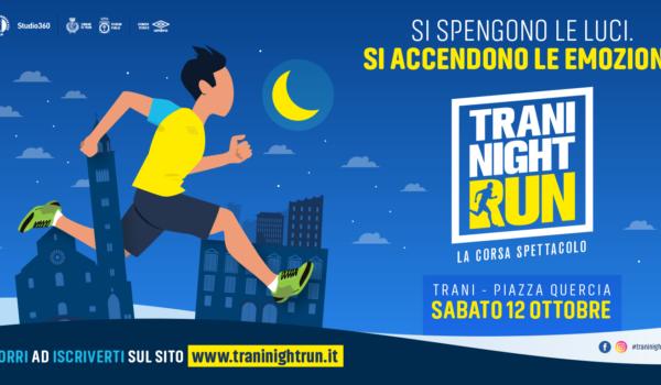 Partecipa alla terza edizione della Trani Night Run