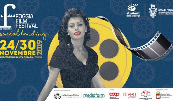 Sta per arrivare la nona edizione del Foggia Film Festival 2019