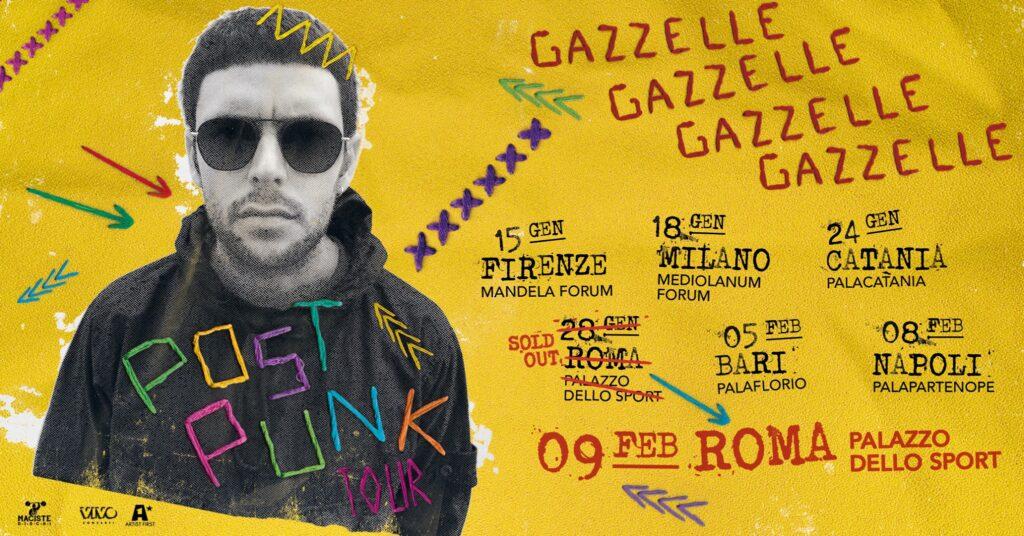 Gazzelle arriva a Bari nel 2020 radio punto musica