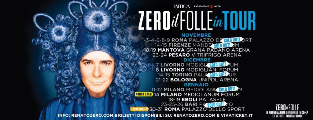 Renazo Zero il folle in tour radio punto musica