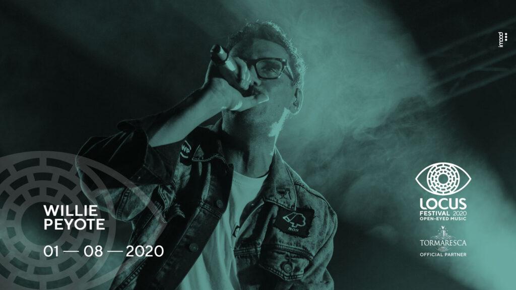 anche willie peyore sarà al locus festival 2020 radio punto musica