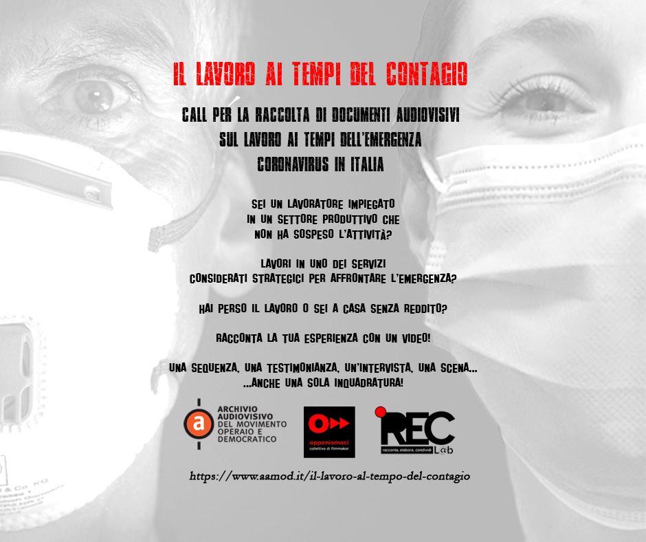 iniziativa aamod per ricordare quarantena coronavirus