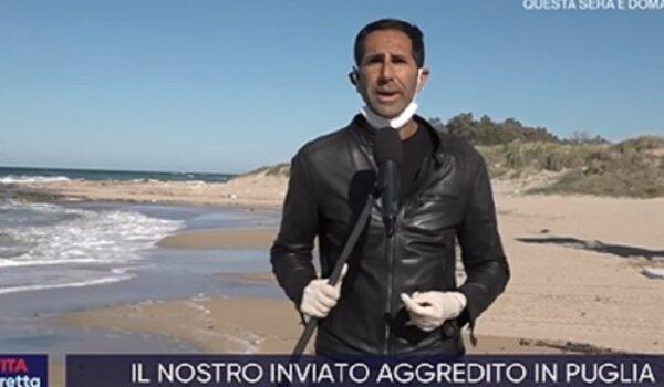 """Bari, troupe Rai aggredita. FNSI e Assostampa Puglia: """"Episodio inaccettabile"""""""