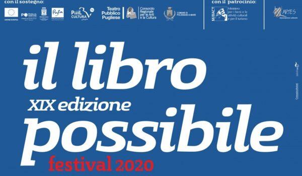 Il Libro Possibile si farà (e anche in presenza) a Polignano a Mare a luglio