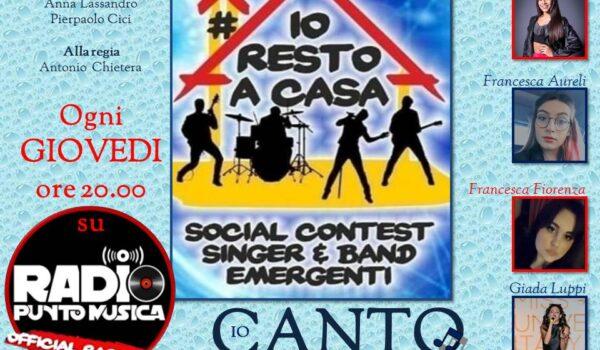 La prima puntata di IO CANTO #Iorestoacasa