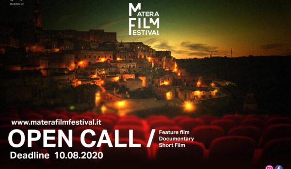 Matera Film Festival, prima edizione a settembre 2020