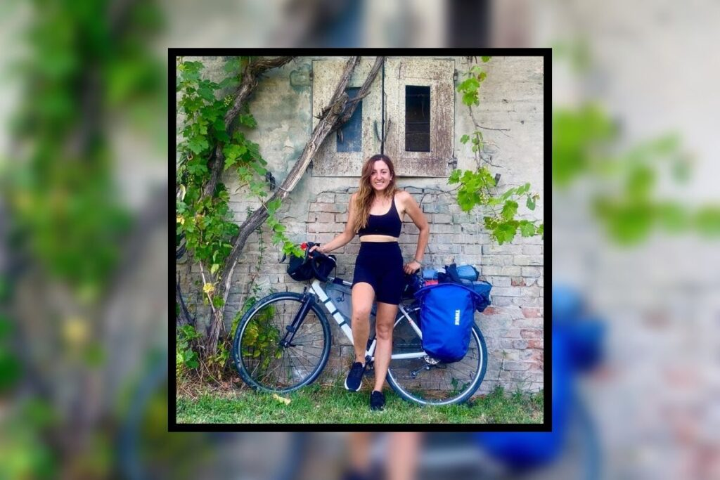 milano foggia in bicicletta della biker pugliese