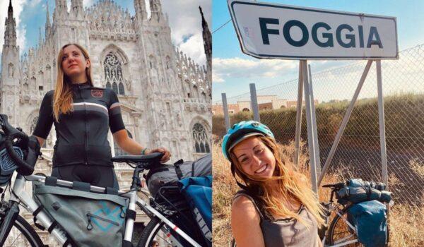 Biker pugliese ha percorso i 900km Milano-Foggia in bicicletta