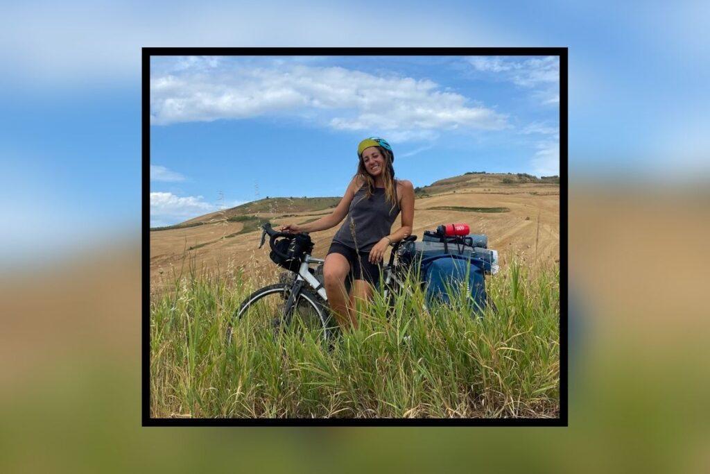 la biker pugliese fa 900km da milano a foggia